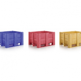 Boxpalet, 120x100x74 cm